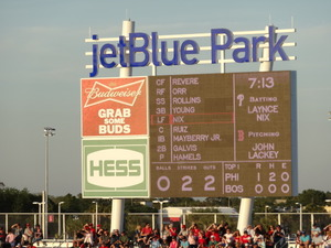 Jetblue Park - March 21  2013    Phillies vs Red Sox 005